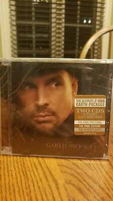 Brand New Garth Brooks The Ultimate Hits Greatest Hits 2 CDs Set