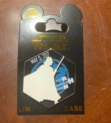 Star Wars Darth Vader May 5, 2018 Limited Release Pin LR May The Force Disney