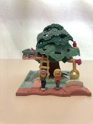 "POLLY POCKET ""Tree house"" 1994 Vintage Bluebird Polly's Treehouse * Complete *"