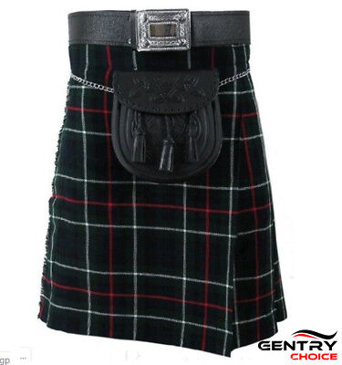 Scottish Traditional Tartan Kilt MacKenzie 8 Yard