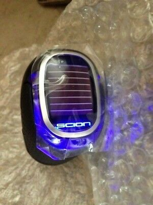 New Razor Scion Led Solar Blue Leather Shift Knob Lighted Tc Xb Xd Xa Fr-S 06-18