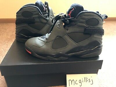 a84c45a441f3 Nike Air Jordan 8 Retro Sequoia Take Flight Undefeated Pre-owned size 10.5