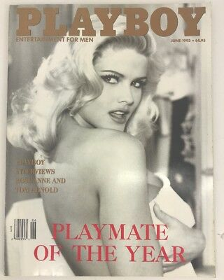 Playboy June 1993 Anna Nicole Smith Playmate of the Year