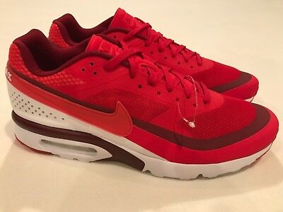 69f26ed88d Nike Air Max BW Ultra University Red Bright Crimson 819475-616 Mens Size 14