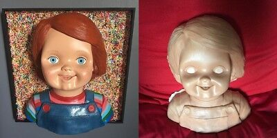 Chucky Good Guy Sculpture To Sanding And Painting