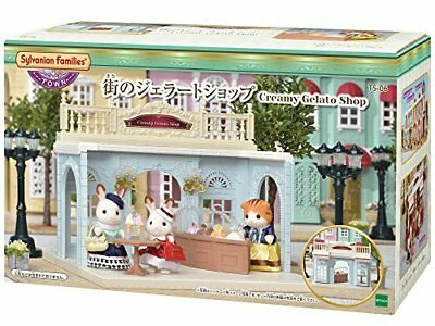 Sylvanian Families Calico Critters TS06 Gelato Shop in Town 91608 JAPAN