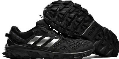 23104519a76e  EXPEDITED SHIPPING  Men s Adidas ROCKADIA TRAIL Black Running Shoes CG3982  Size