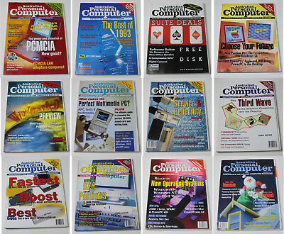 Australian Personal Computer (APC) Magazine (12 Issues from 1994)