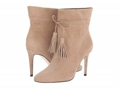 56f21300fd86 kate spade new york Dillane Pointed Toe Suede High-Heel Booties Size 7.5  Natural