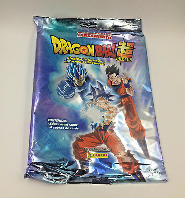 Dragon Ball Super - 1 Pack Lanzamiento Starter Pack Sealed - Cromos Cards Panini