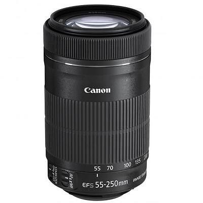 Canon EF-S 55-250 mm F/4.0-5.6 IS STM Objektiv Retail *** NEU / OVP **