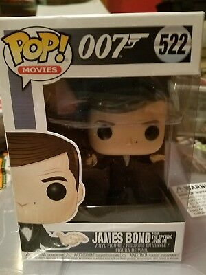 Funko - POP Movies: James Bond - Roger Moore Brand New In Box