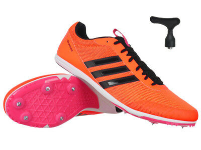 first rate sold worldwide affordable price ADIDAS DISTANCESTAR DAMEN Running Spikes - Orange Track and ...