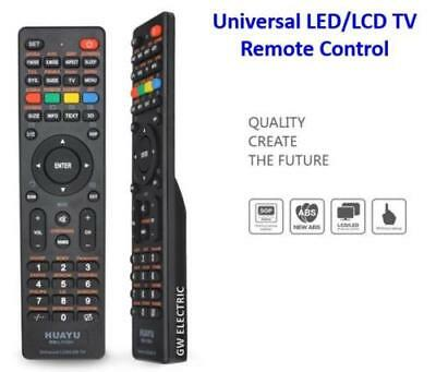 UNIVERSAL TV Remote Control LCD/LED/HD For TCL/TOSHIBA/PHILIPS/JVC SONIQ QT-112