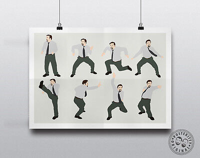 A Good Idea DAVID BRENT Minimalist Poster Quote Art Posteritty Office Gervais