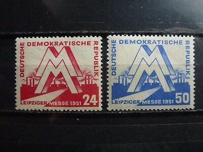 East Germany, DDR, 1951, 282-283, **MNH, signed