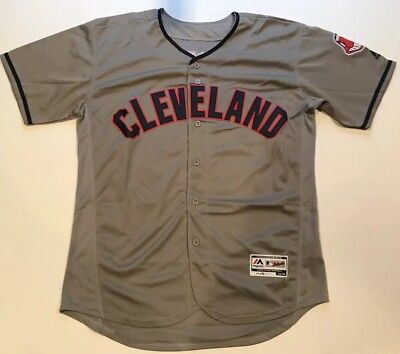 Ricky Wild Thing Vaughn Cleveland Indians Gray Throwback Jersey Size Large  New f2eeab8b6
