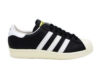 new concept b20a8 a757d Adidas Superstar 80S Sneakers Black White G61069
