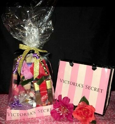 Victoria Secret Theme Birthday Mothers Day Easter Gift Basket Set Ready To