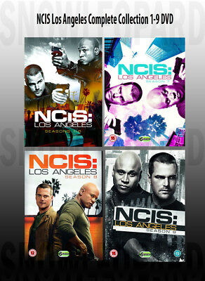NCIS LOS ANGELES COMPLETE COLLECTION SERIES Season 1 2 345 6 7 8 9 DVD UK NEW R2