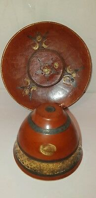 Antique Islamic Ottoman Turkish Tophane Cup and Saucer