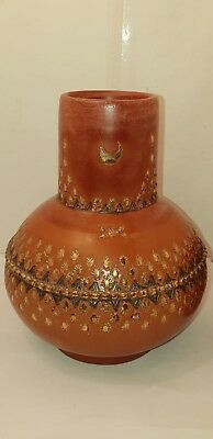 Antique Islamic Ottoman Turkish Tophane Water Jug with Cup