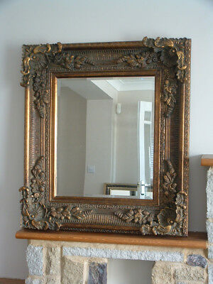 mirror large ornate repro antique style gold/gilt colour