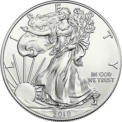2019 American Silver Eagle 1 oz Coin - Lot of 3!