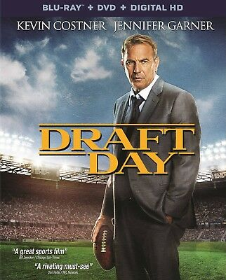 Draft Day 2014 PG-13 football movie, new Blu-ray/DVD/DC Costner Cleveland Browns