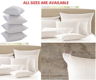 """Lancashire Textiles 4 Pack Luxury 18"""" x 18"""" Microfibre Cushion Pads with Bounce"""