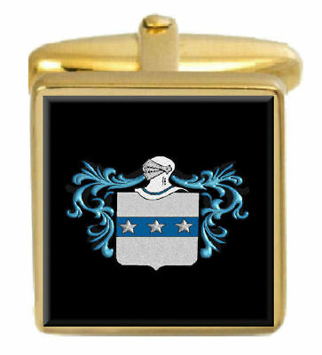Select Gifts Ingalls Scotland Family Crest Surname Coat Of Arms Cufflinks Personalised Case