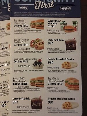 Sonic Drive-In Community First Discount Cards Coupons