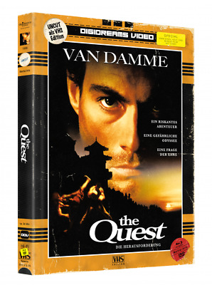 The Quest - Limited Mediabook VHS Edition [Blu-ray+DVD]