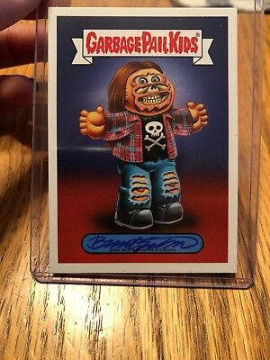 GARBAGE PAIL KIDS WE HATE THE 90's 2019 Brent Engstrom AUTOGRAPH CARD 18/25