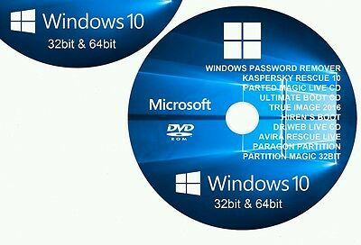 HIRENS BOOT REPAIR Restore For Windows Bootable Recovery DVD