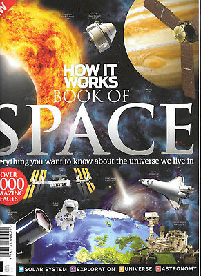 HOW IT WORKS  : BOOK OF SPACE : 10th edition : 1000+ amazing facts : LATEST ONE