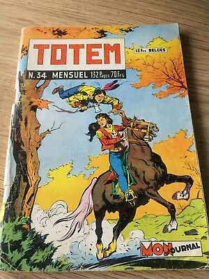 Rare Totem N° 34 De 1959 Editions Mon Journal