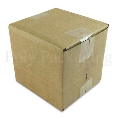 """10 x 3x3x3""""SINGLE WALL Cardboard Boxes (76x76x76mm)SMALL Square Cubed Posting"""