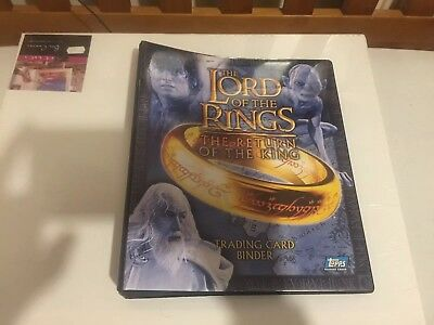 The Lord Of The Rings The Return Of The King Trading Cards Plus Binder (6 Foils)