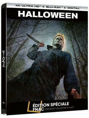 Halloween 2018 4K Uhd + Blu-Ray Steelbook Fnac Exclusive [France]