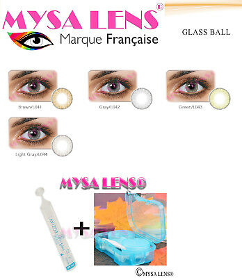 Colored Contact Lenses Kontaktlinsen Glass Ball Colors 1 Year MYSA LENS