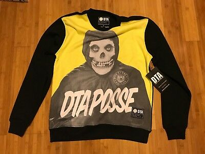 Dta Posse Crew Fleece Sz L Dont Trust Anyone Rogue Status Rob Dyrdek Misfits 6d2b1de78e45