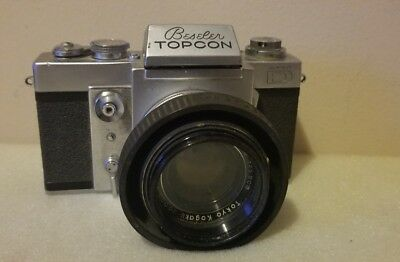Beseler Topcon Super D SLR Camera As Is