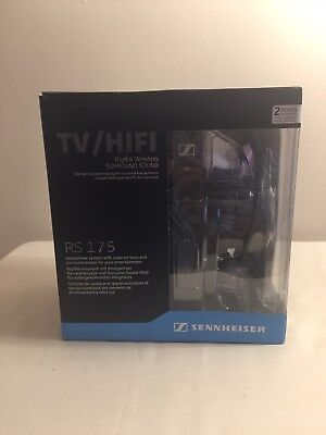 Sennheiser RS175 TV/HiFi Digital Wireless Headphone System Black 505563