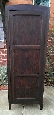 Antique Single Pine Wardrobe Kitchen Cabinet 185 x 67 x 40 cms DELIVERY POSSIBLE
