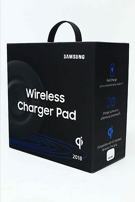 Samsung Qi Wireless Fast Charge Charging Pad 2018 for Galaxy S9+ Note 9 Gear S3