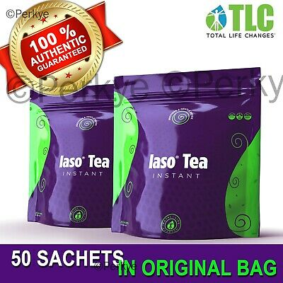 ❤️❤️ IASO INSTANT TEA 50 Sachets - 2019 NEW IN BAG  total life changes (TLC)