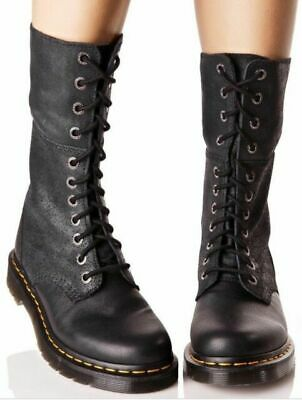 cheapest price wide range low priced DR. MARTENS HAZIL Black Women's Leather Slouched Boot ...