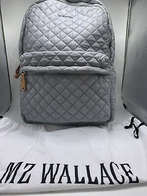 148e61a6f2 MZ WALLACE METRO Backpack Dove Gray Silver  245  USA Seller ...