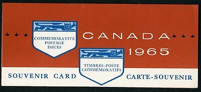 Weeda Canada VF 1965 Annual Souvenir Card #7, VF condition CV $7.50